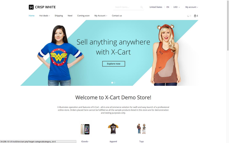 X-Cart screenshot 0