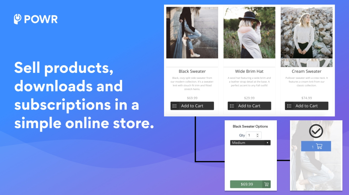 POWR Ecommerce screenshot 0