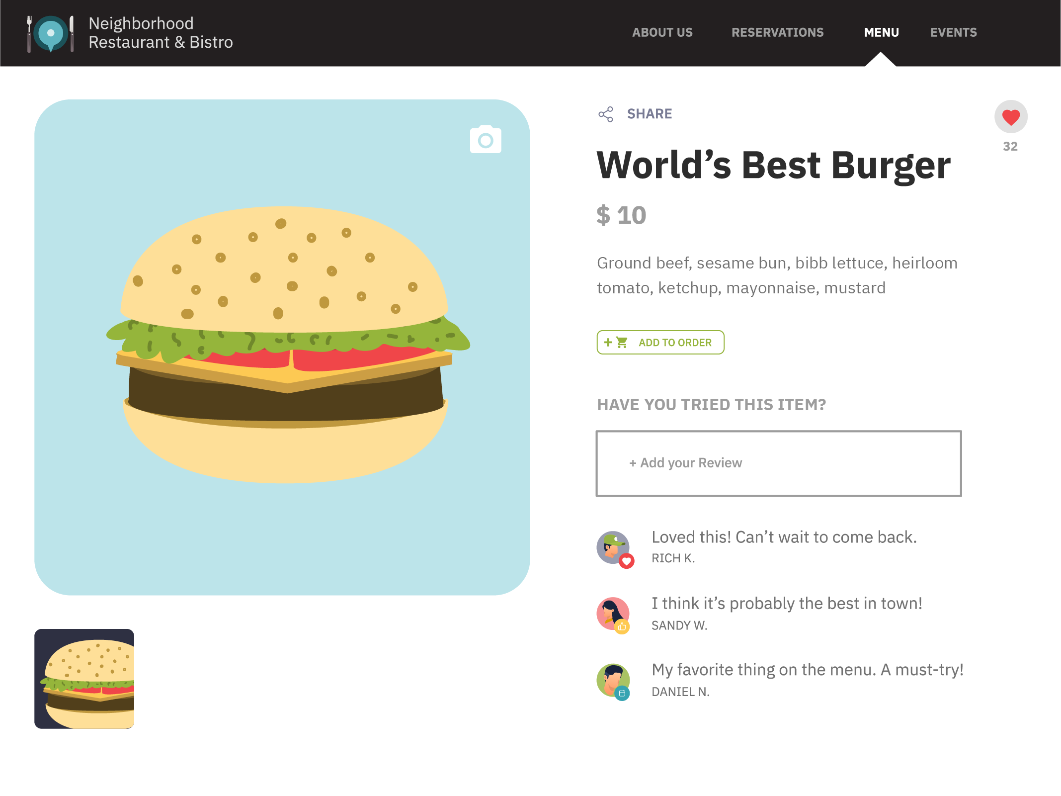 Popmenu screenshot 0