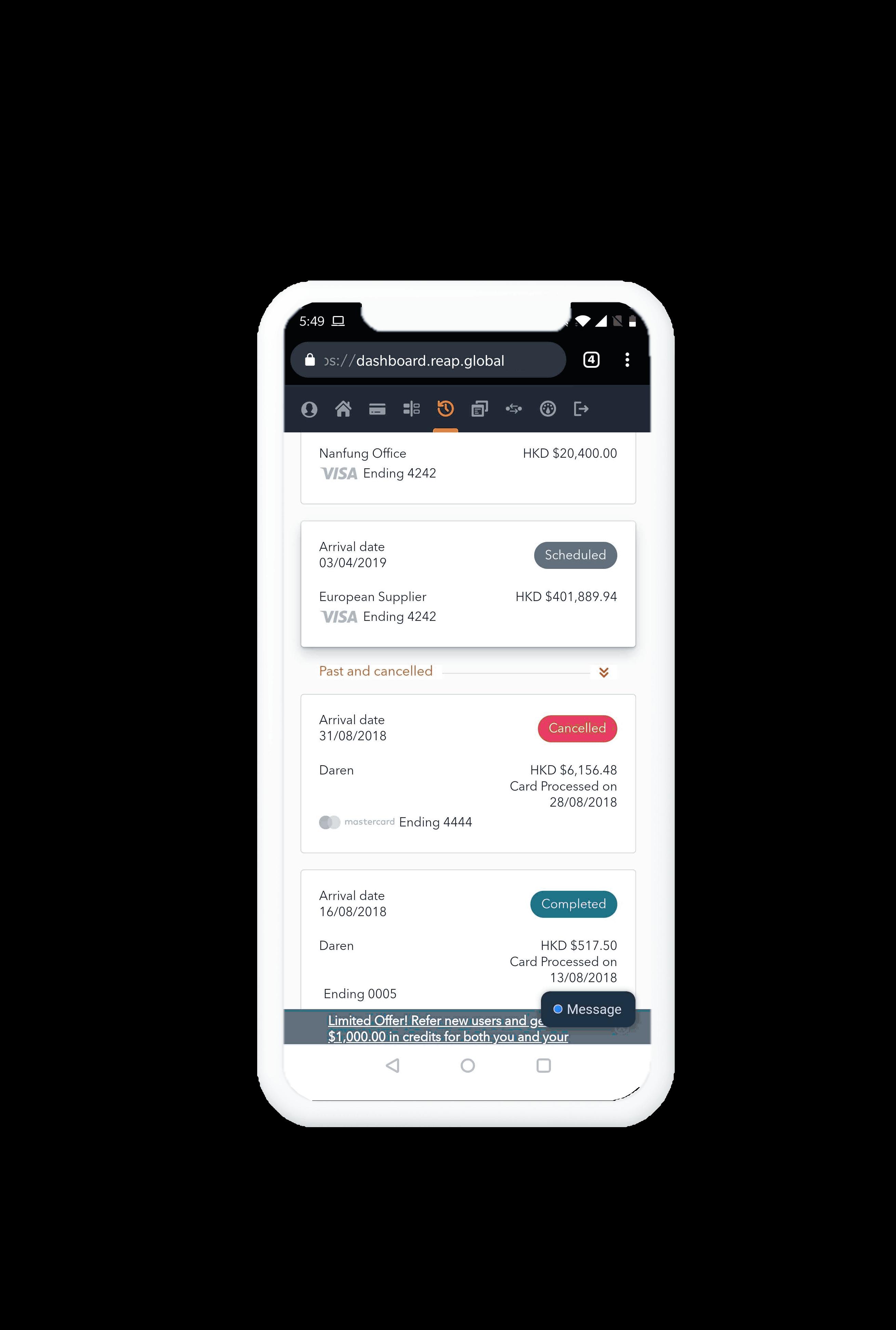 Reap Technologies Limited screenshot 1