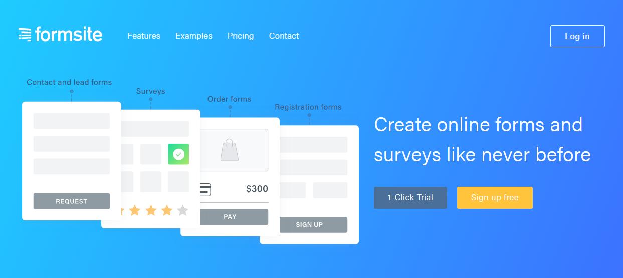 Formsite screenshot 0