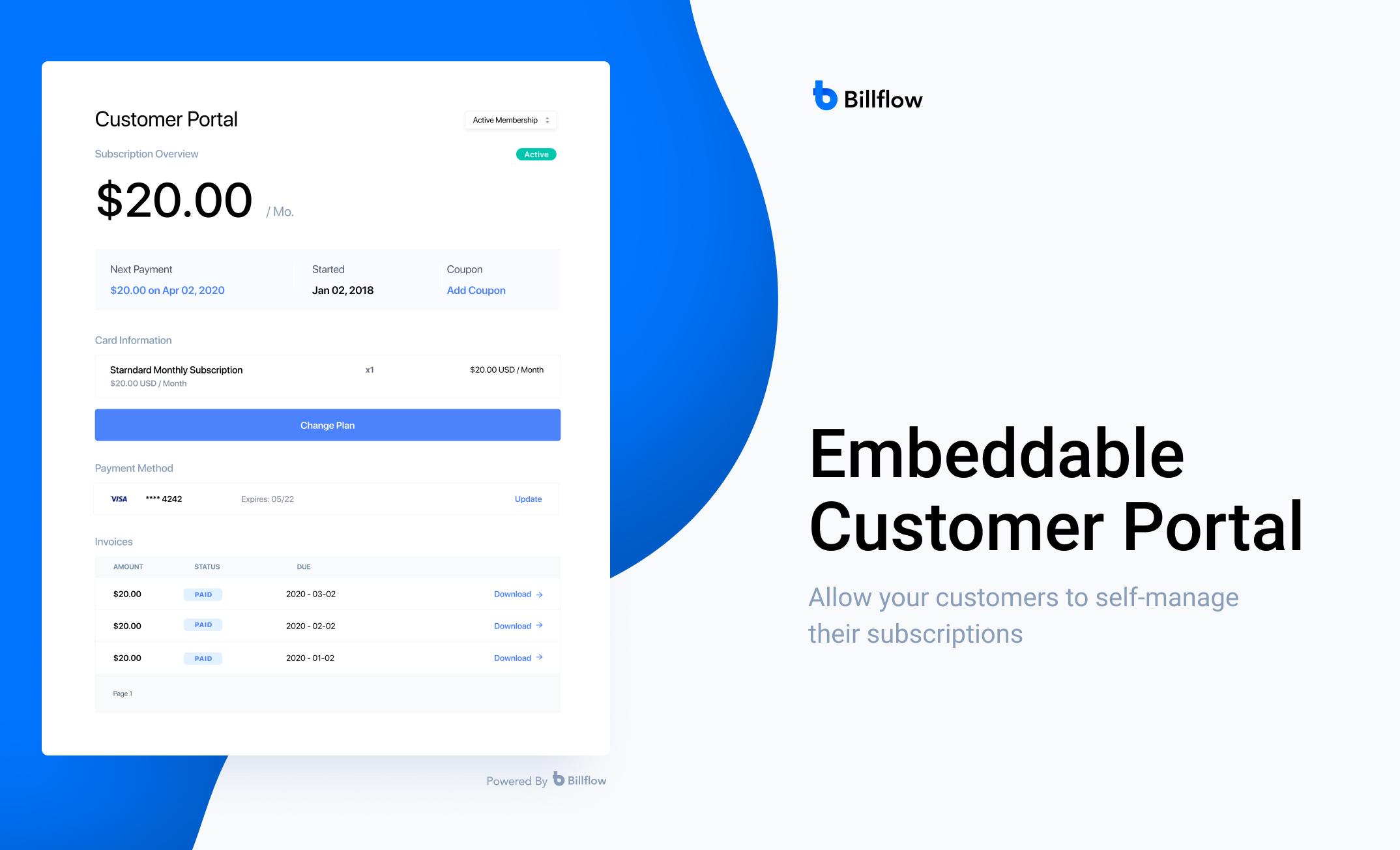 Billflow screenshot 1