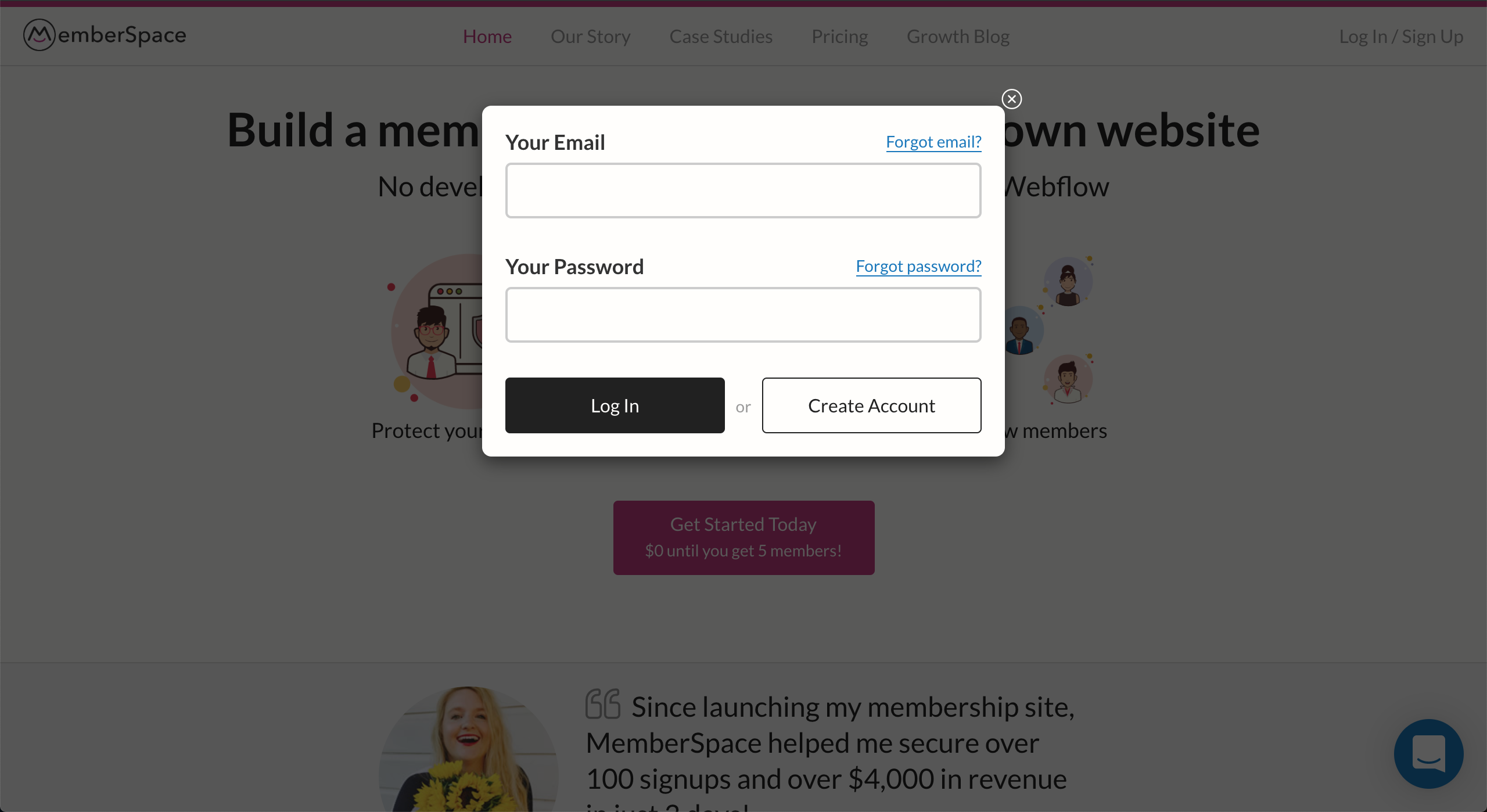 MemberSpace screenshot 0