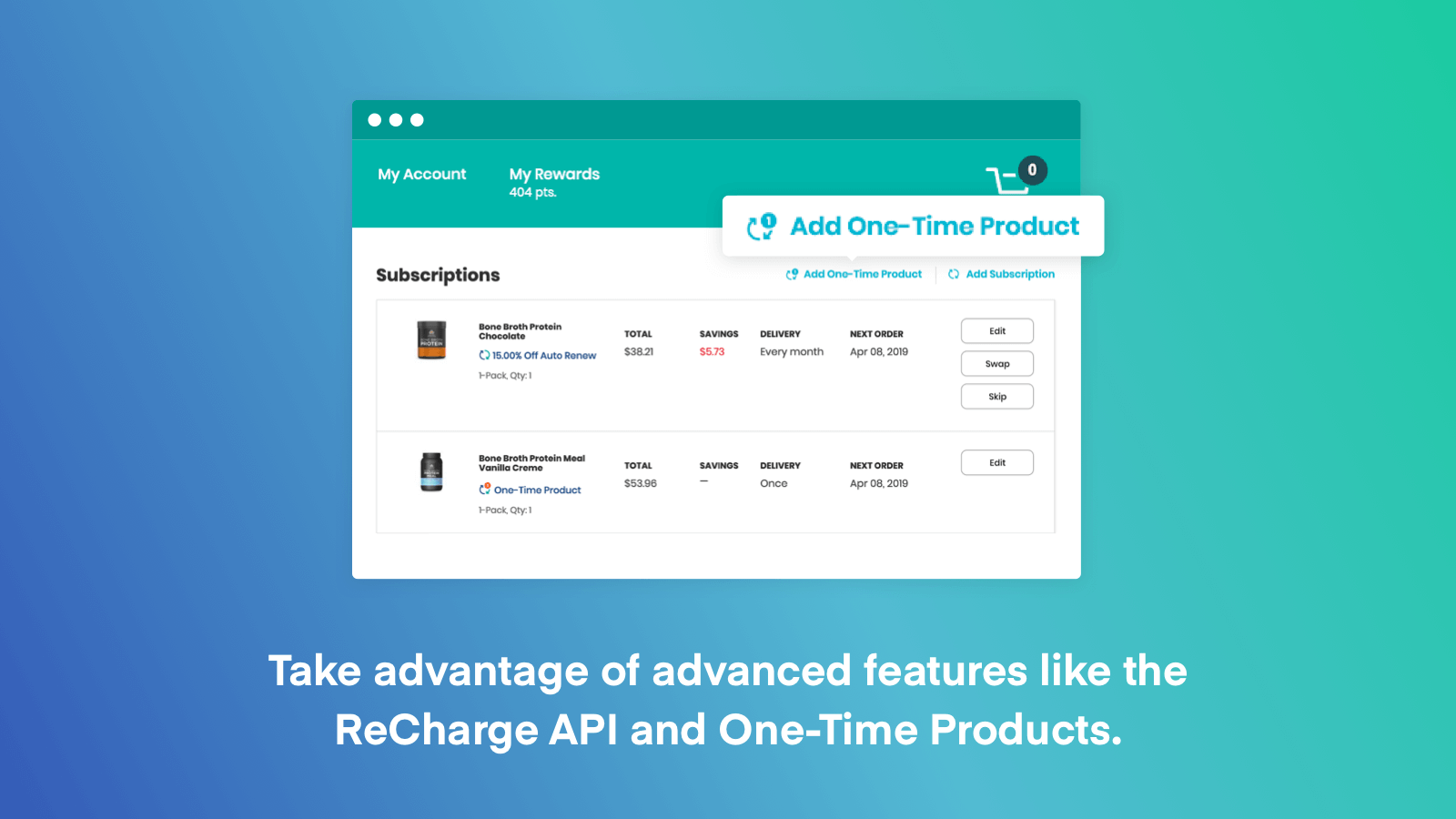 Subscriptions by ReCharge screenshot 2
