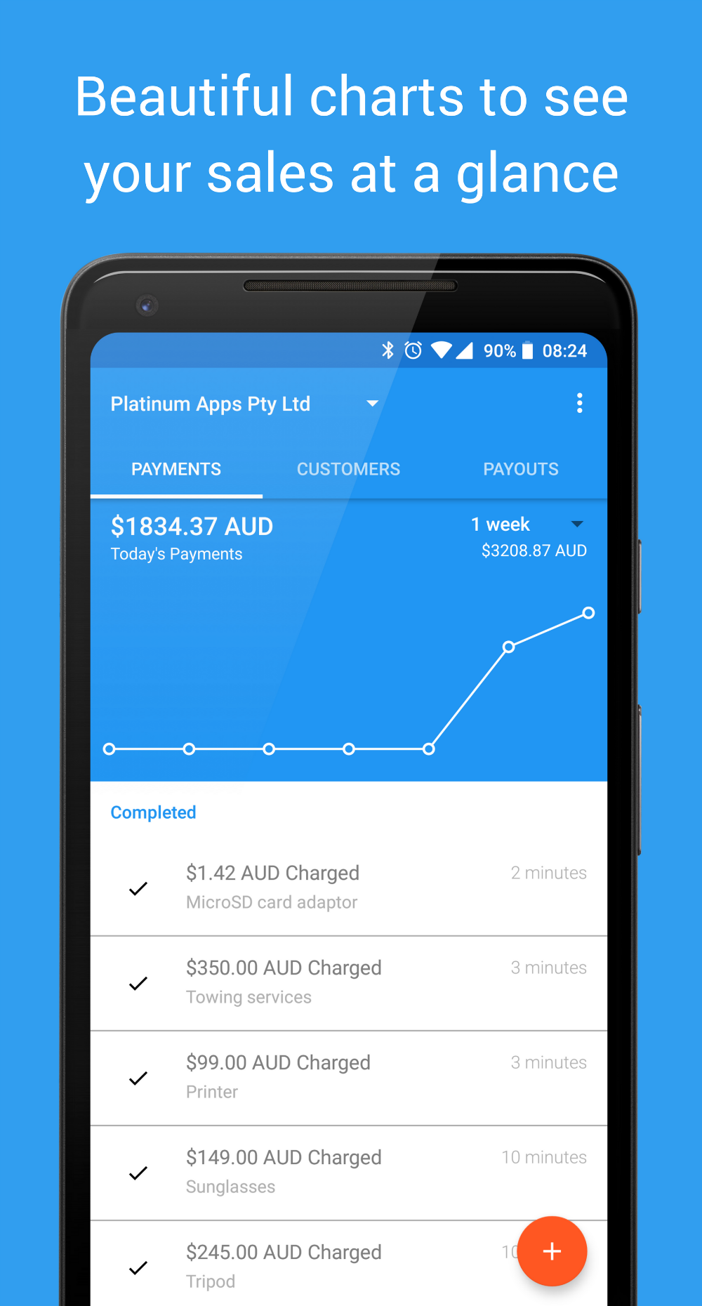 Charge for Stripe screenshot 0