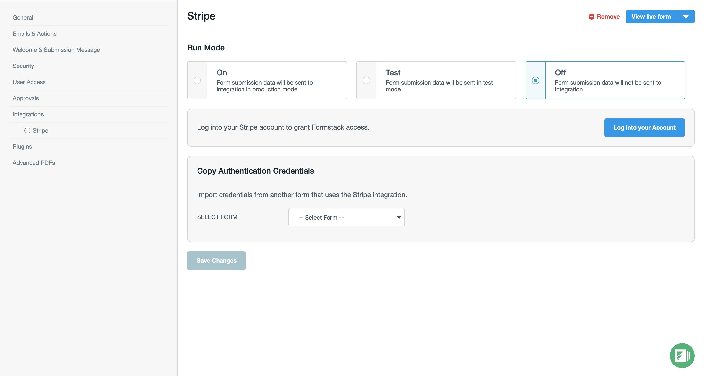 Formstack screenshot 0