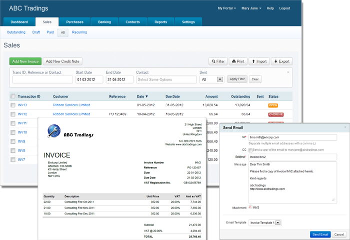 AccountsPortal screenshot 1