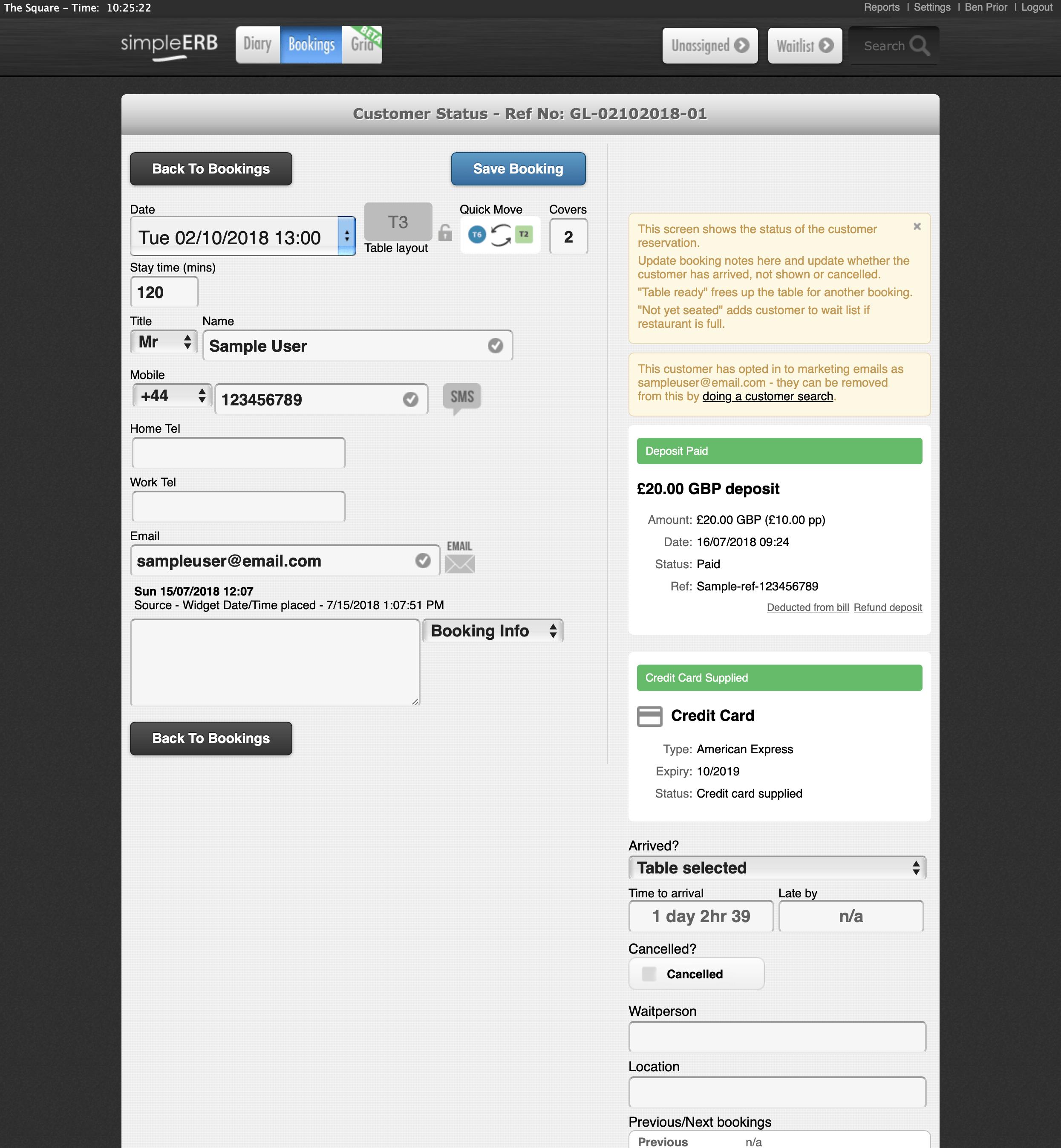 simpleERB screenshot 0