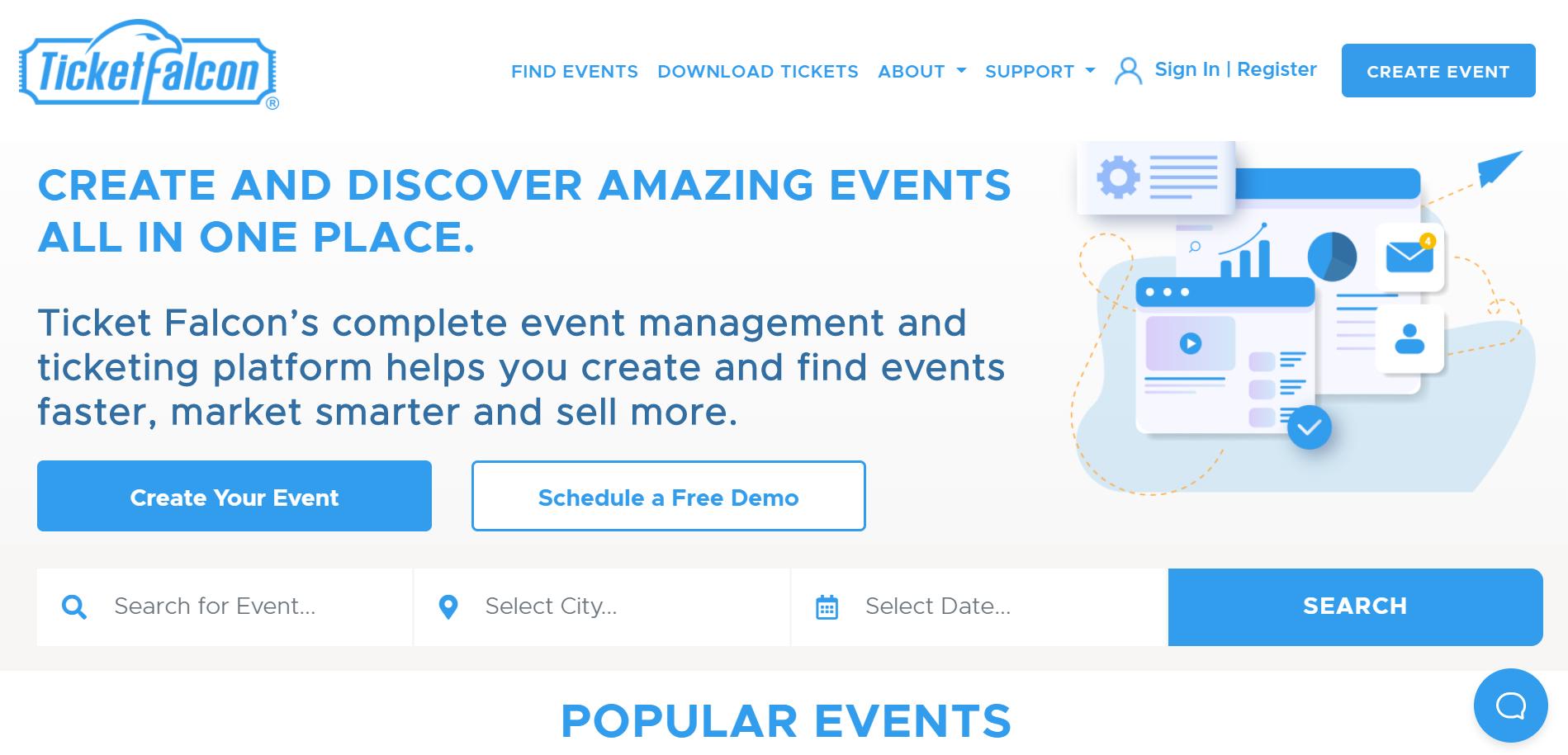 Ticket Falcon screenshot 0