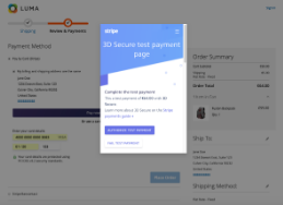 Stripe Payments screenshot
