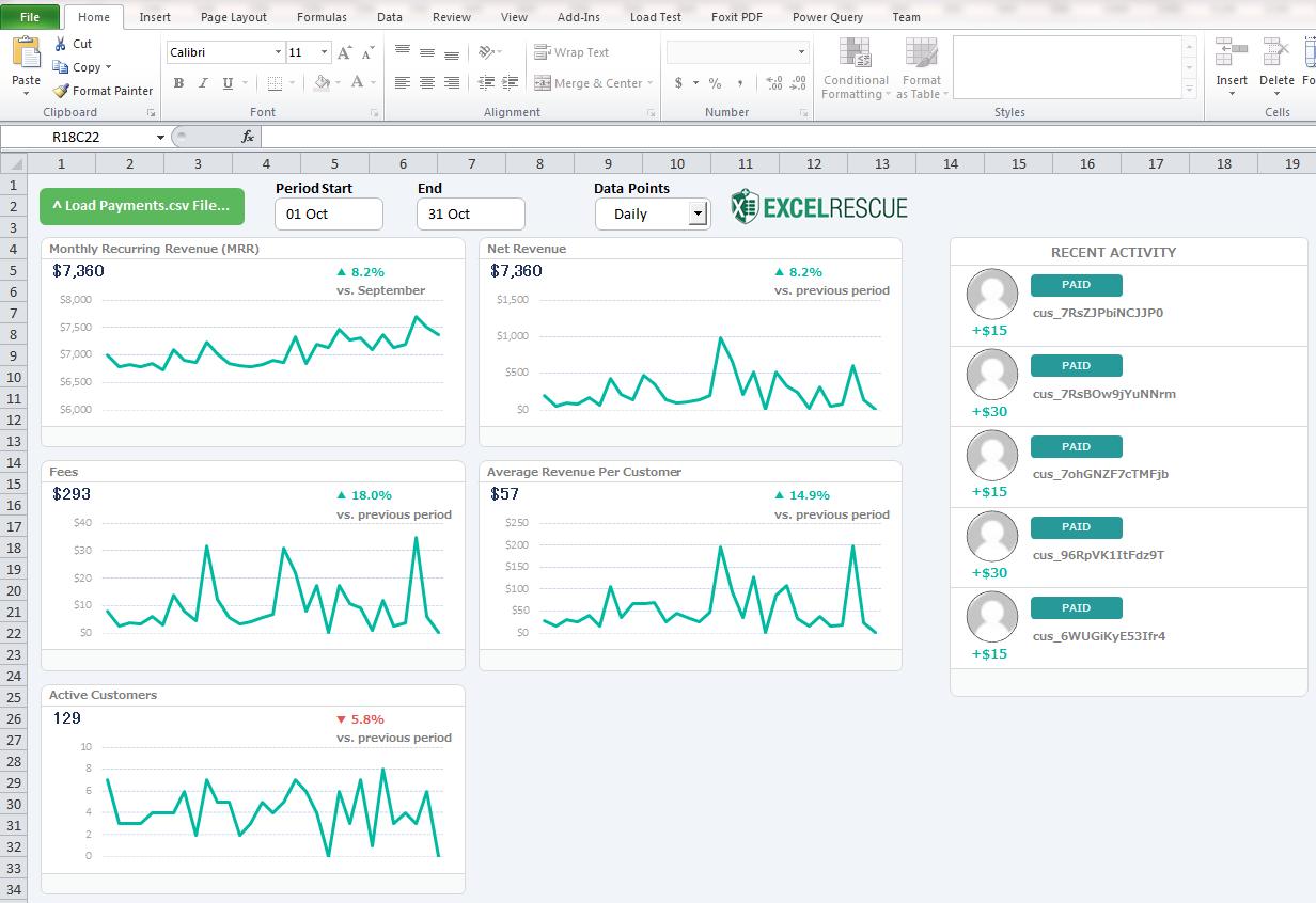 Stripe Partners: Excel Rescue