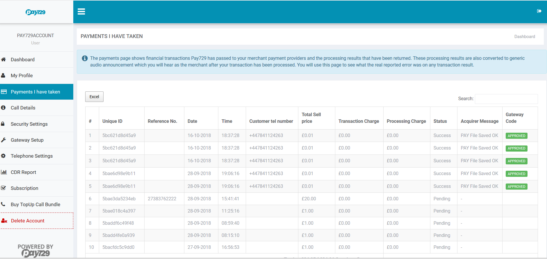 Paytia secure and simple payments  screenshot 2