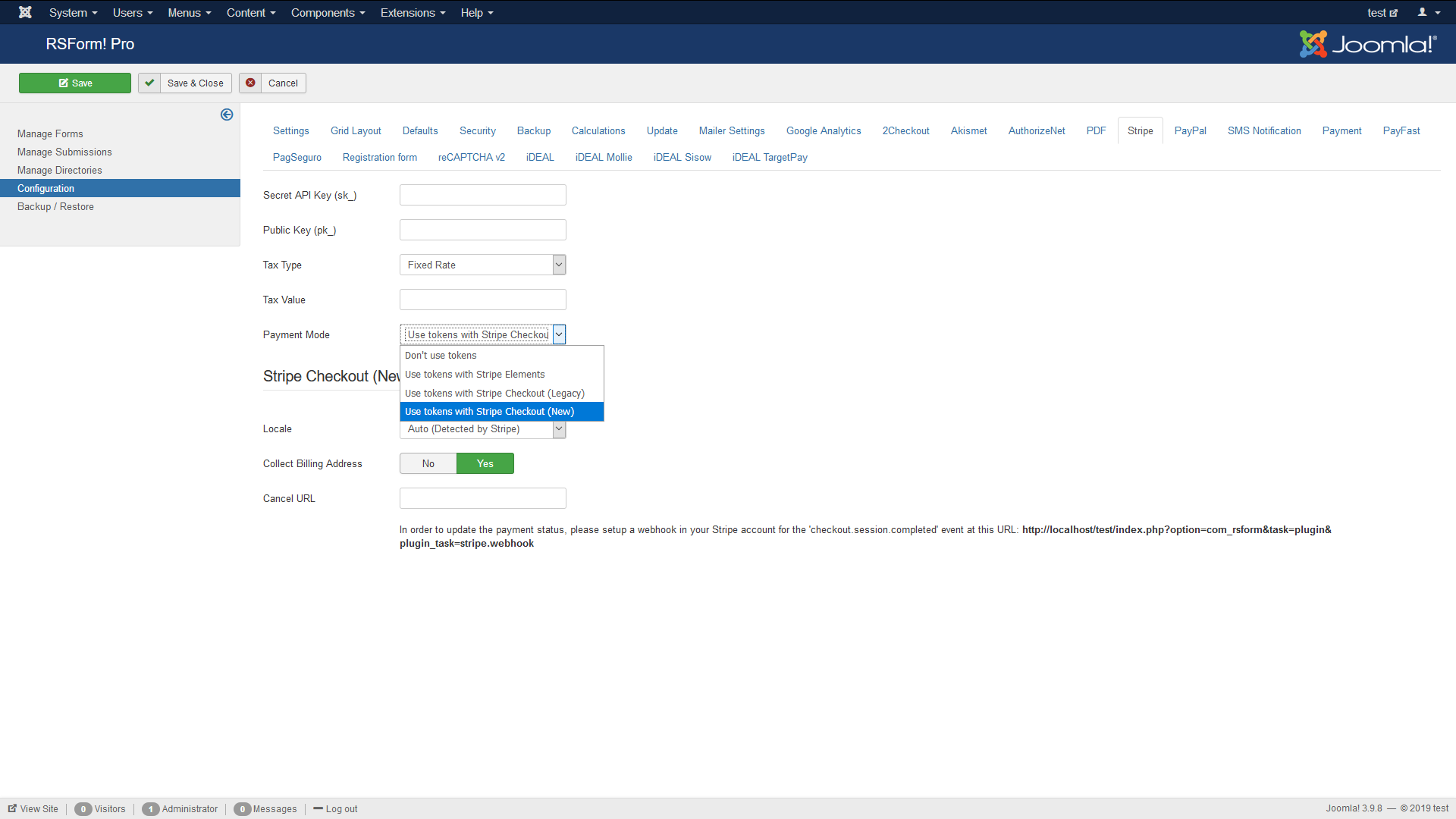 RSJoomla! screenshot 1