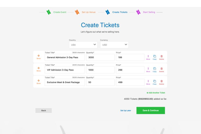 PromoTix screenshot 1