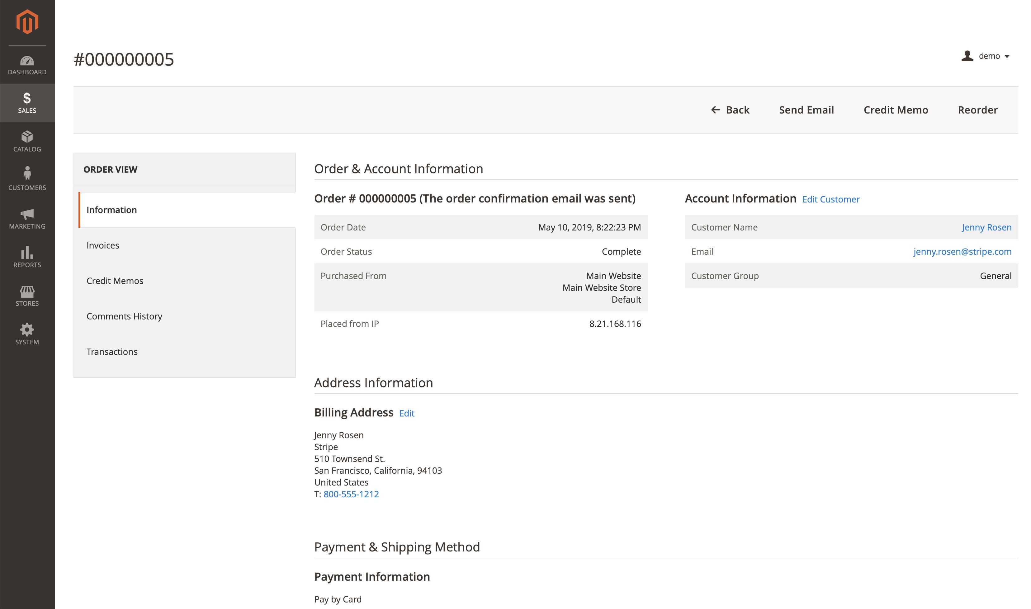 Stripe Payments screenshot 1