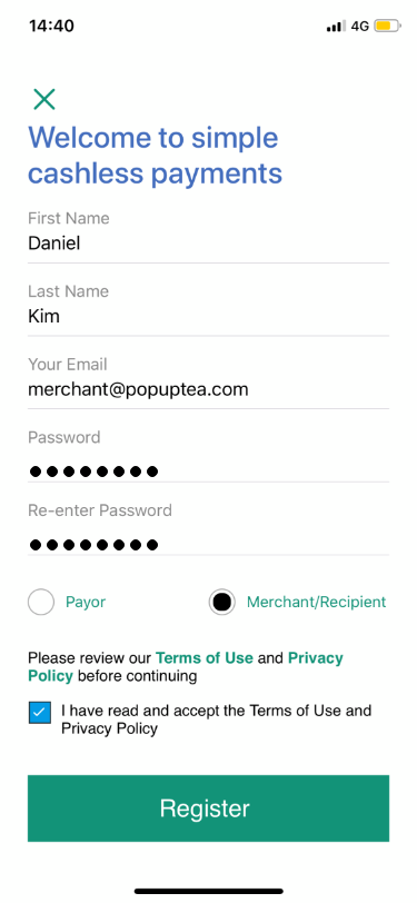 Slip Pay screenshot 1