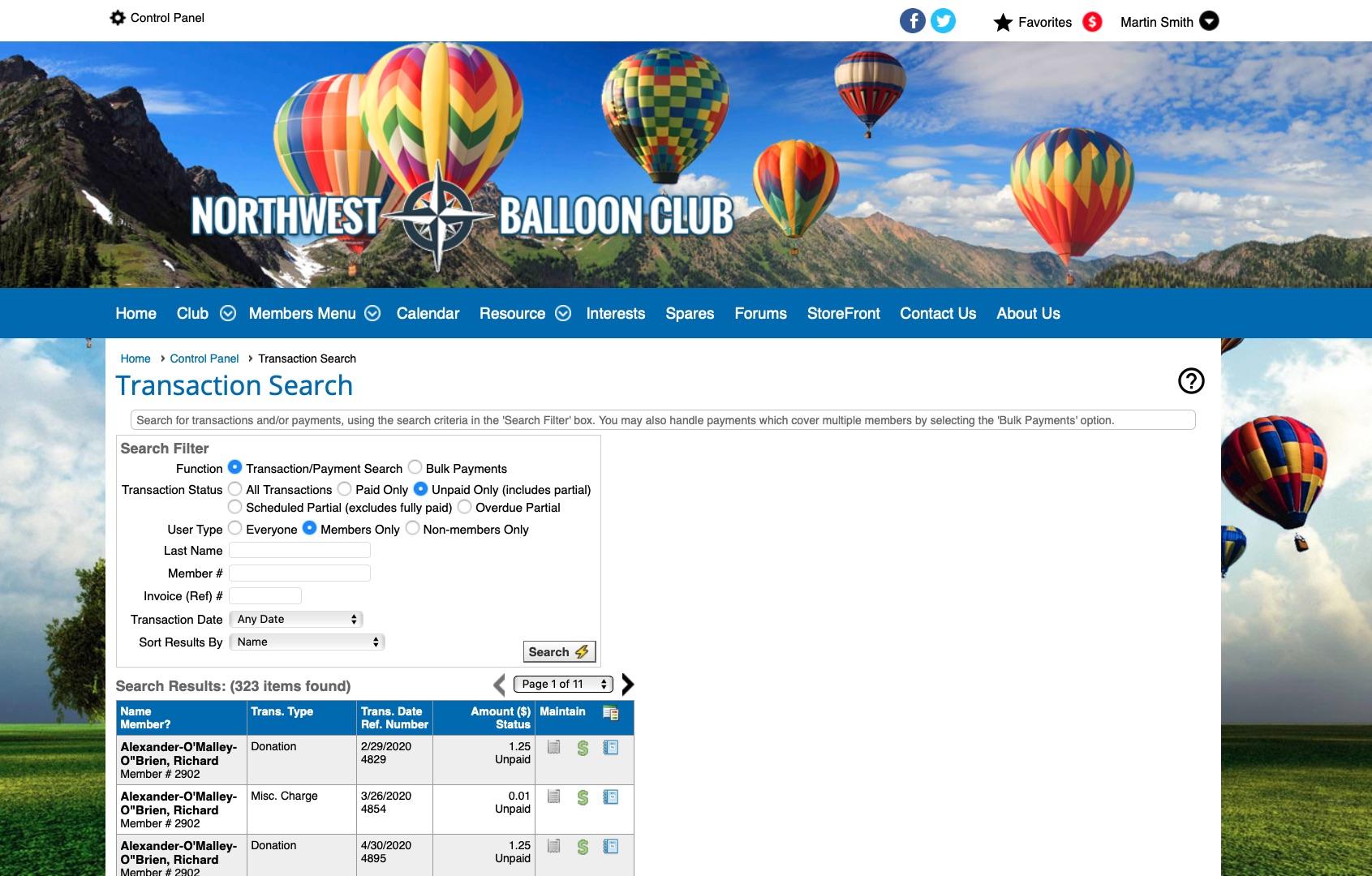 ClubExpress screenshot 1