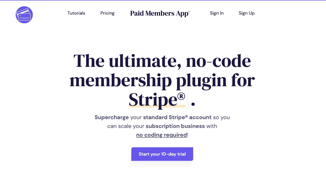 Paid Members App screenshot 0