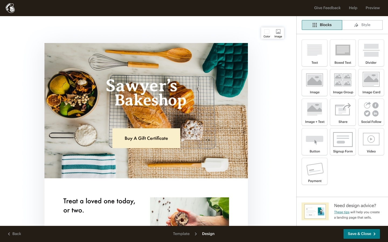 Mailchimp Landing Pages screenshot 0