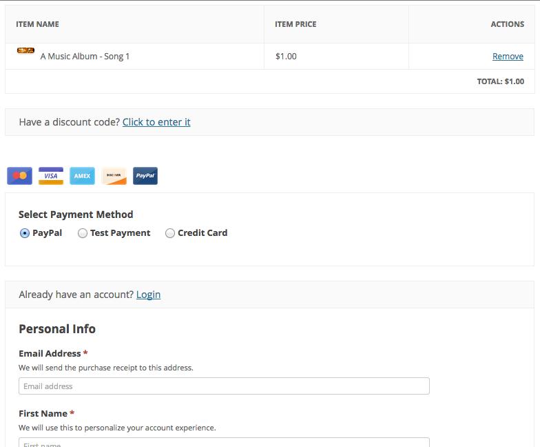 Easy Digital Downloads screenshot 2