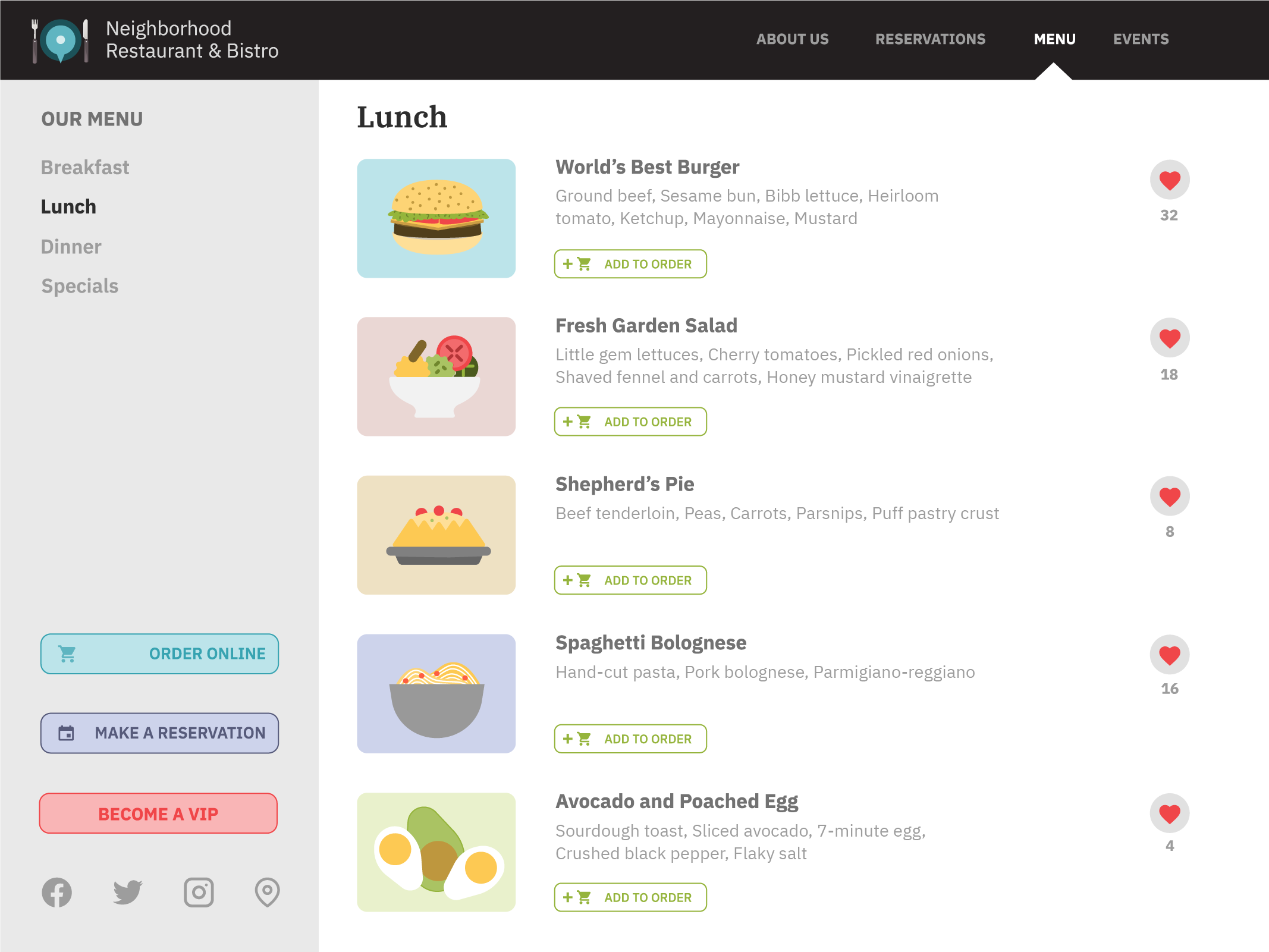 Popmenu screenshot 1
