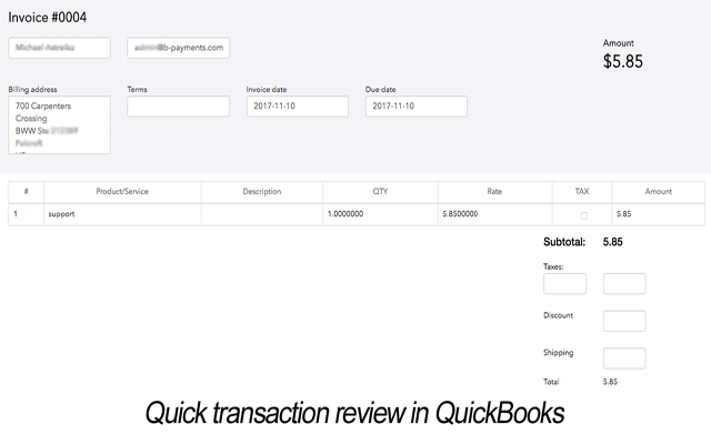 Business Payments screenshot 2