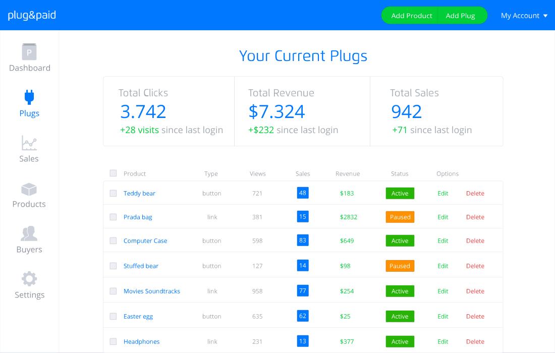 plug&paid screenshot 1