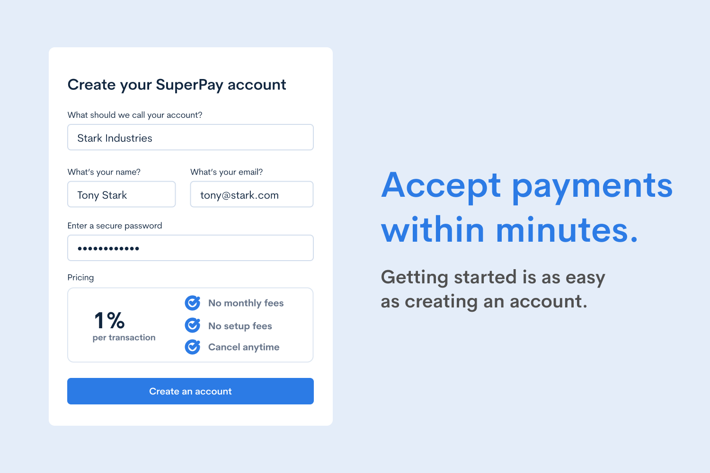 SuperPay screenshot 0