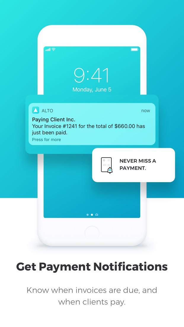 Invoice By Alto screenshot 1