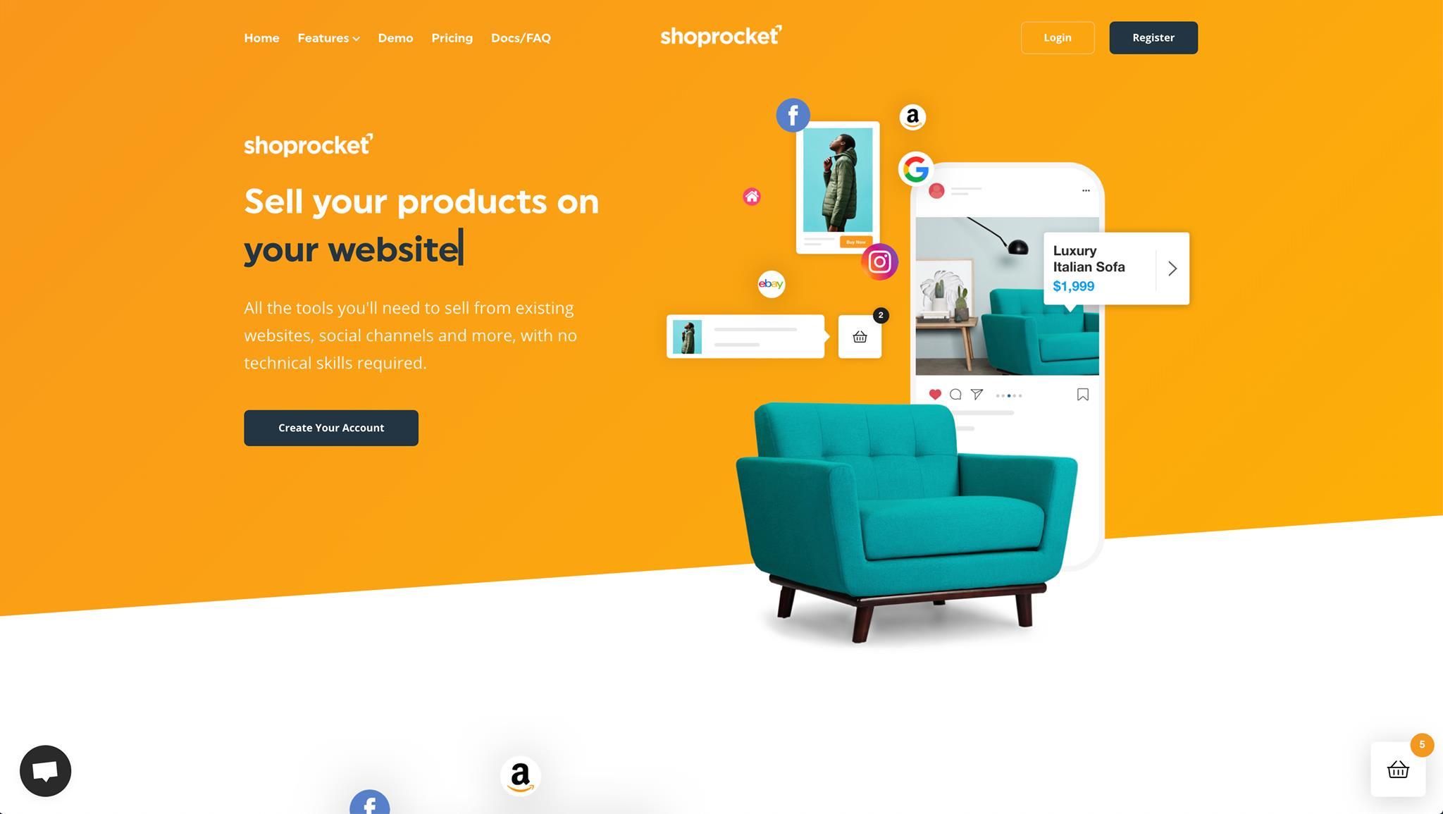 Shoprocket screenshot 0