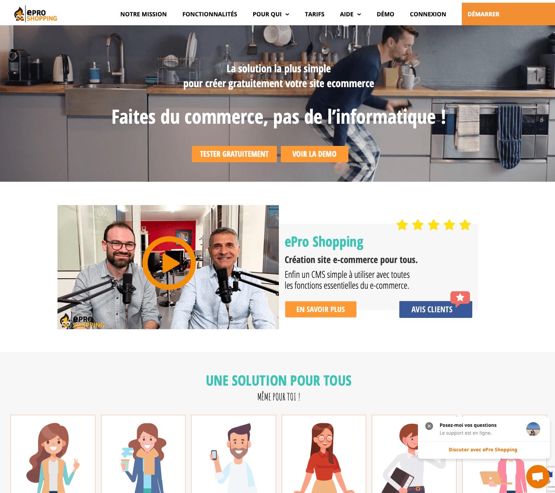 ePro Shopping screenshot 0