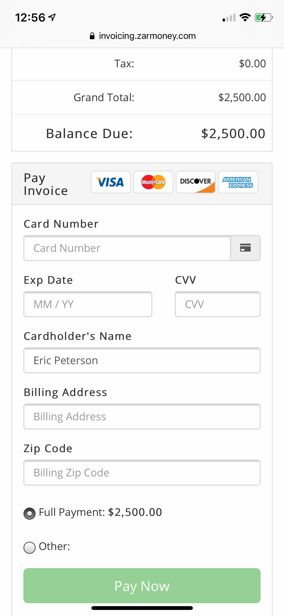 ZarMoney {Accounting Software} screenshot 0