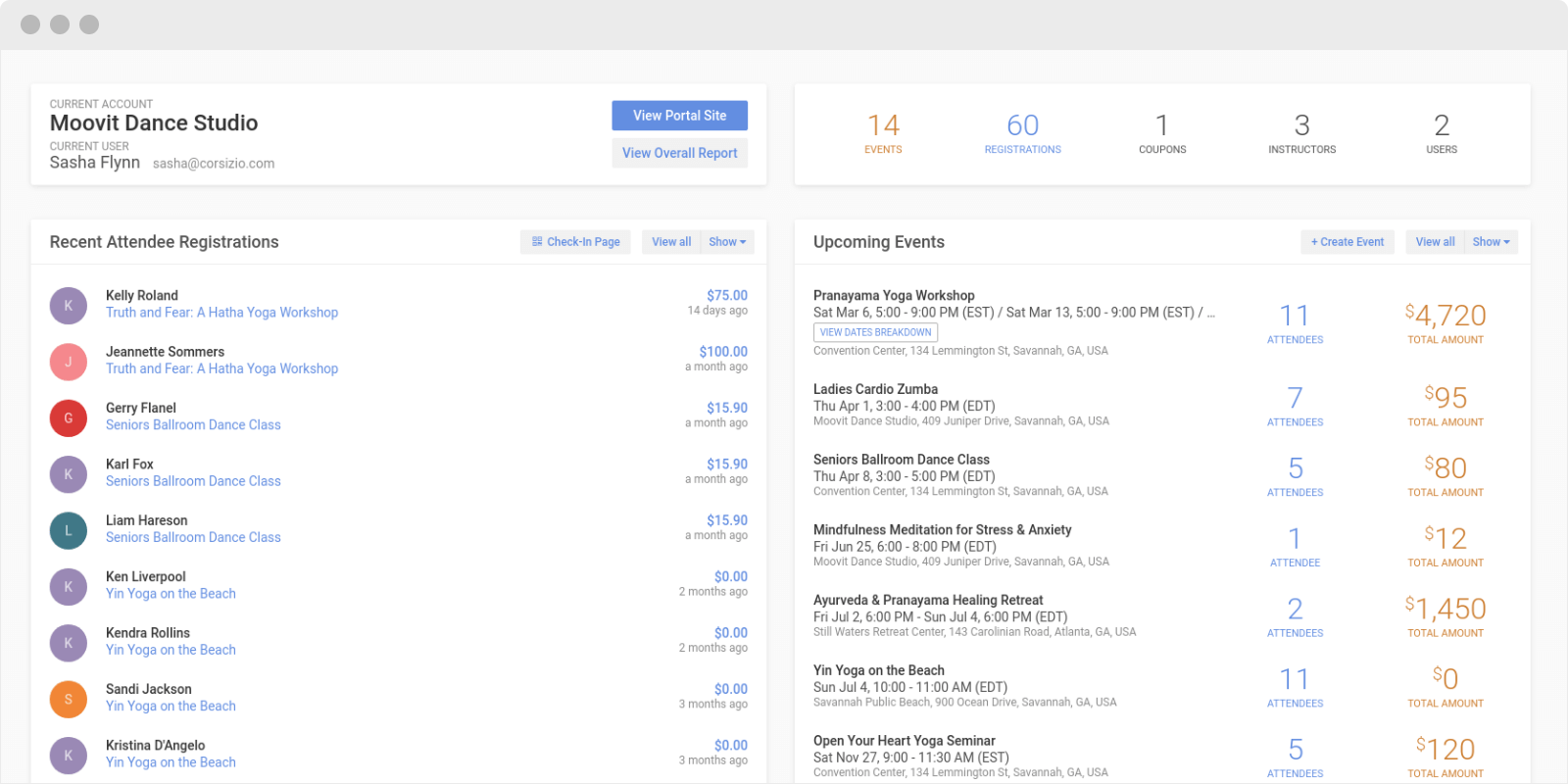 Corsizio screenshot 0