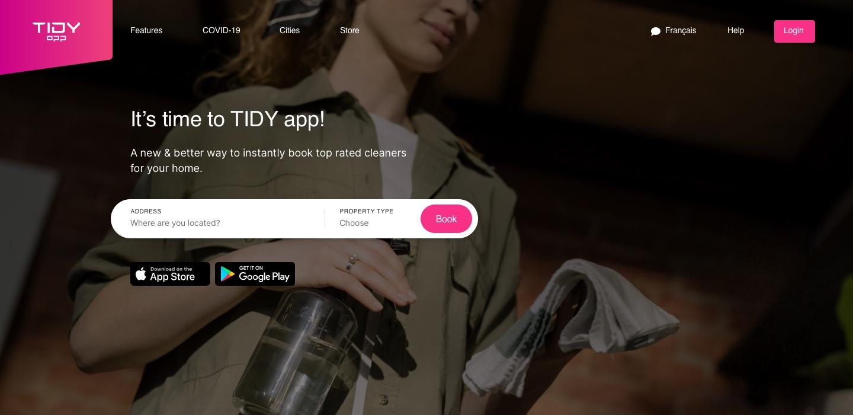 TIDY app screenshot 0
