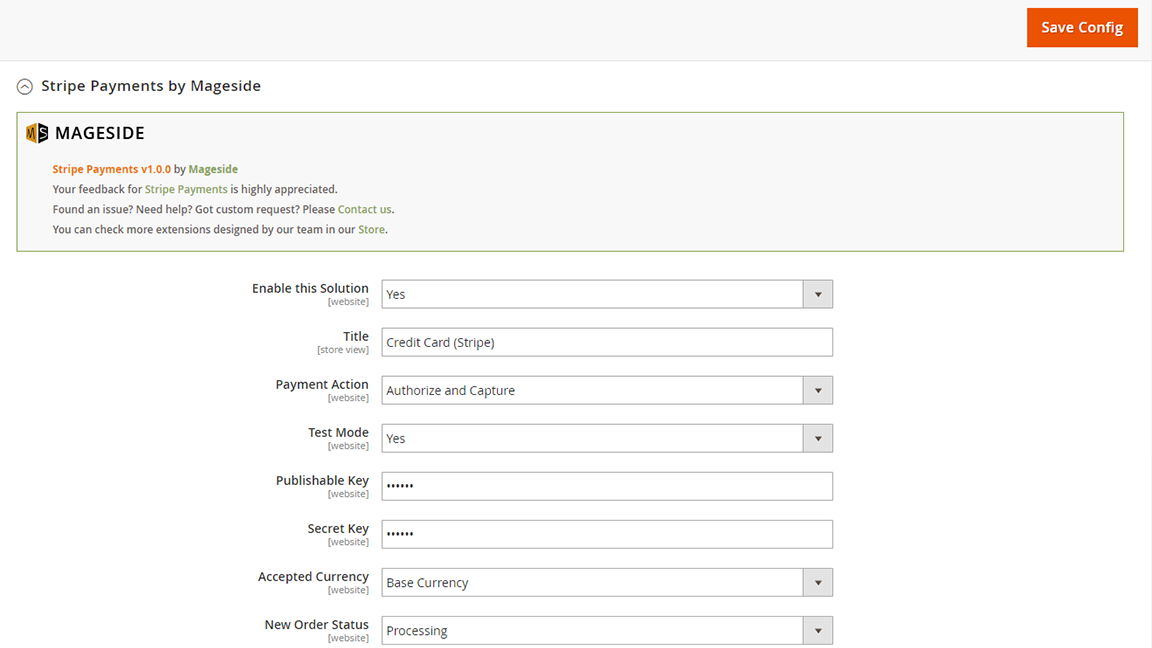 Mageside Magento 2 screenshot 2