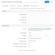 OpenCart Stripe Payment Gateway screenshot