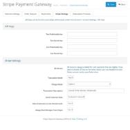 OpenCart Stripe Payment Gateway screenshot
