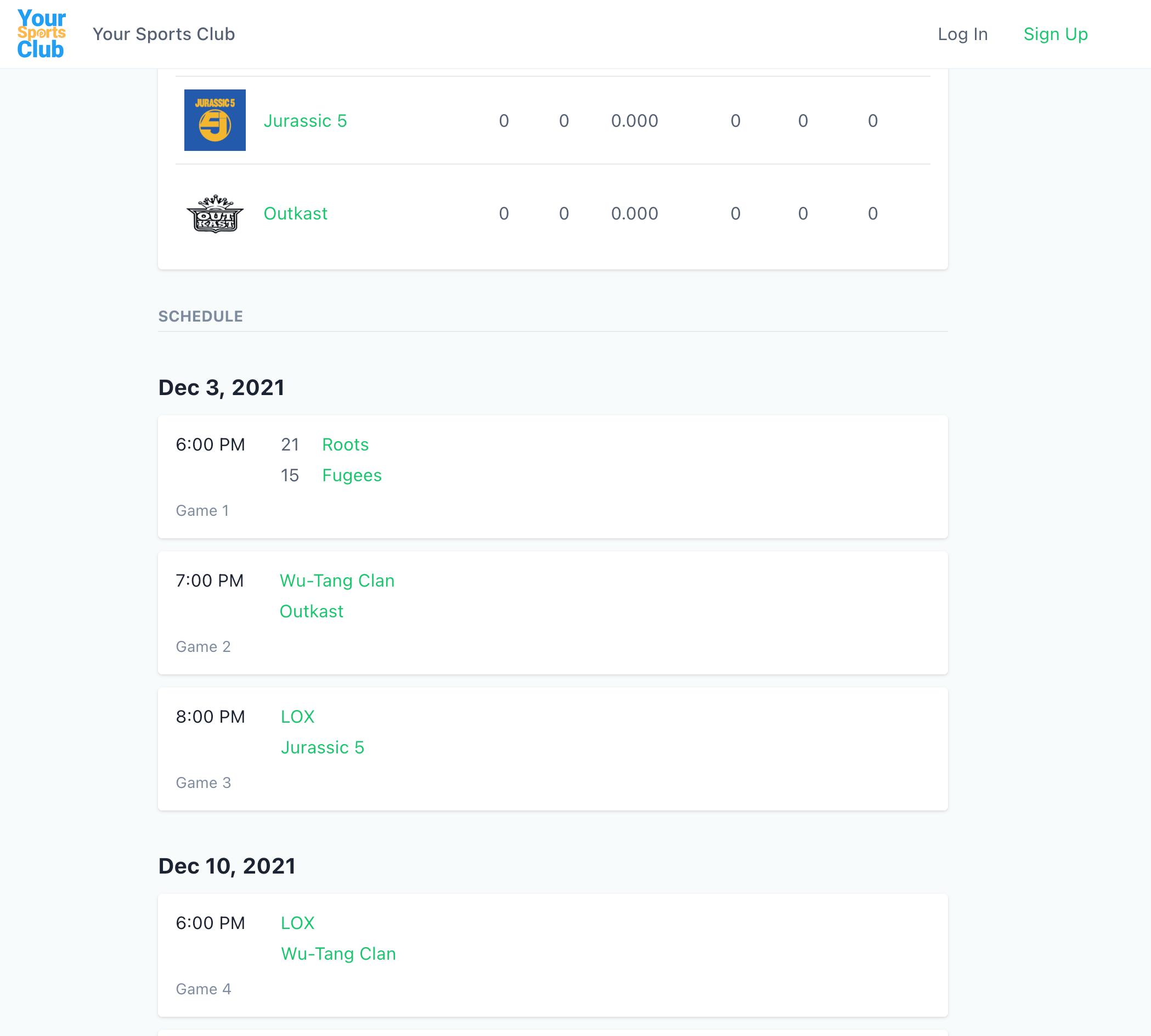 Playpass screenshot 1