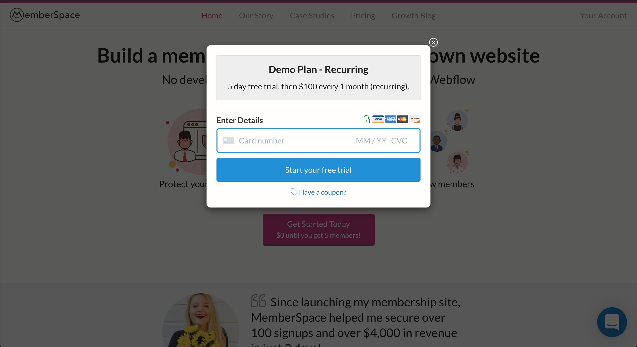 MemberSpace screenshot 1