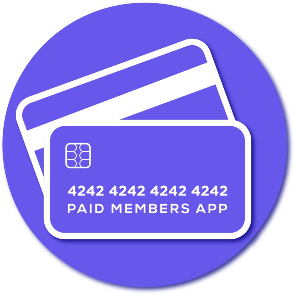 Paid Members App logo