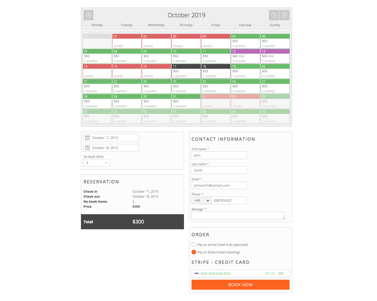 Pinpoint Booking System screenshot 2