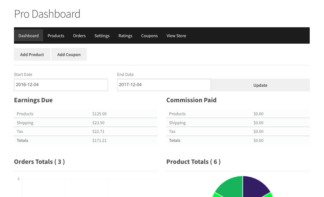 WC Vendors screenshot 1