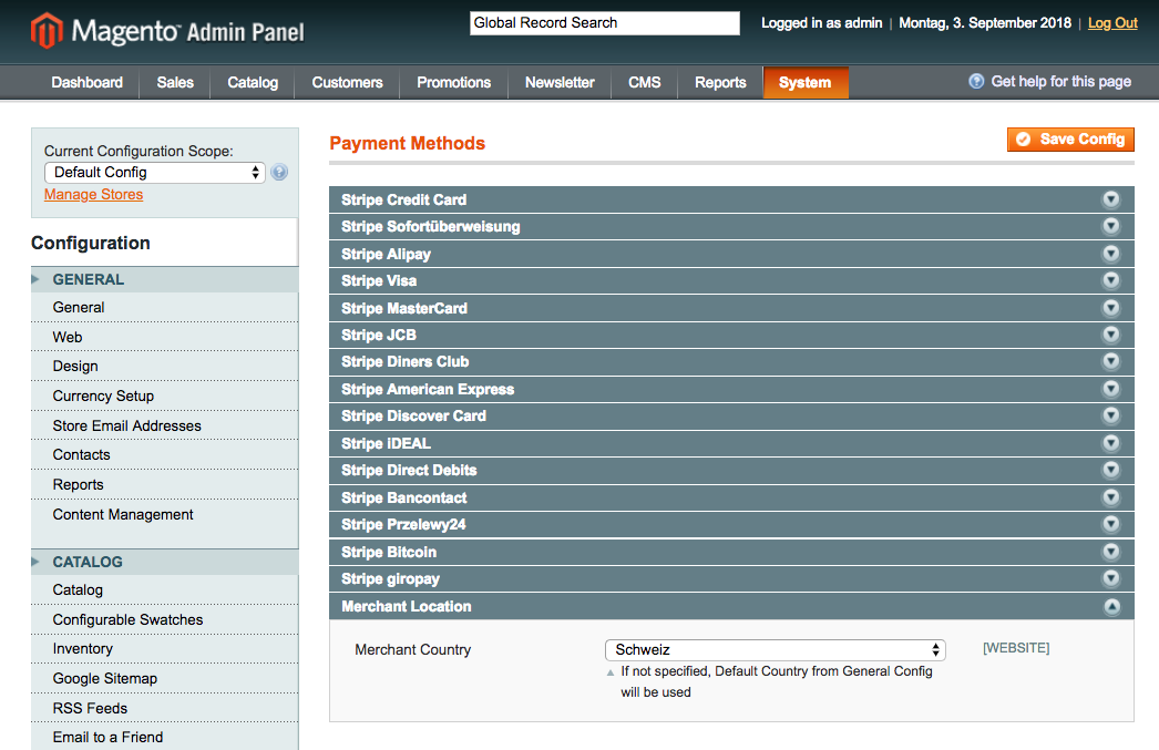 Sellxed Magento 1 screenshot 1