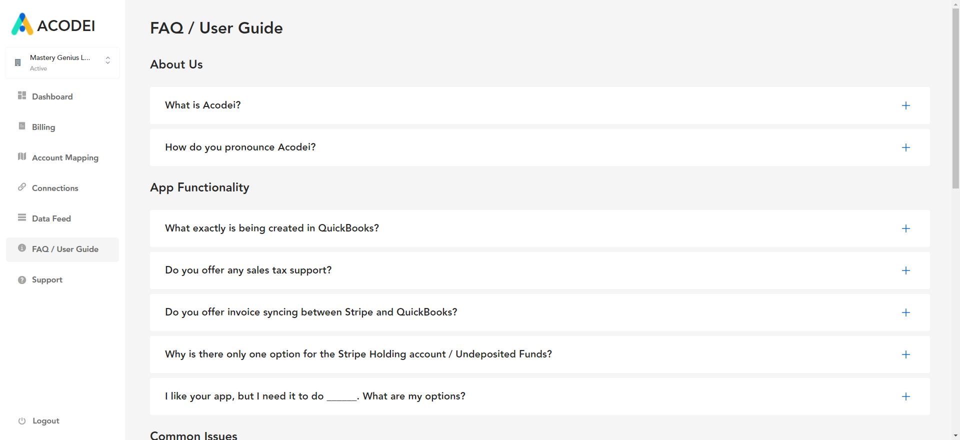 QuickBooks Online Sync by Acodei screenshot 0