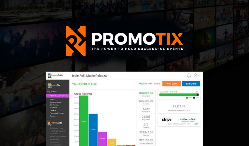 PromoTix screenshot 0