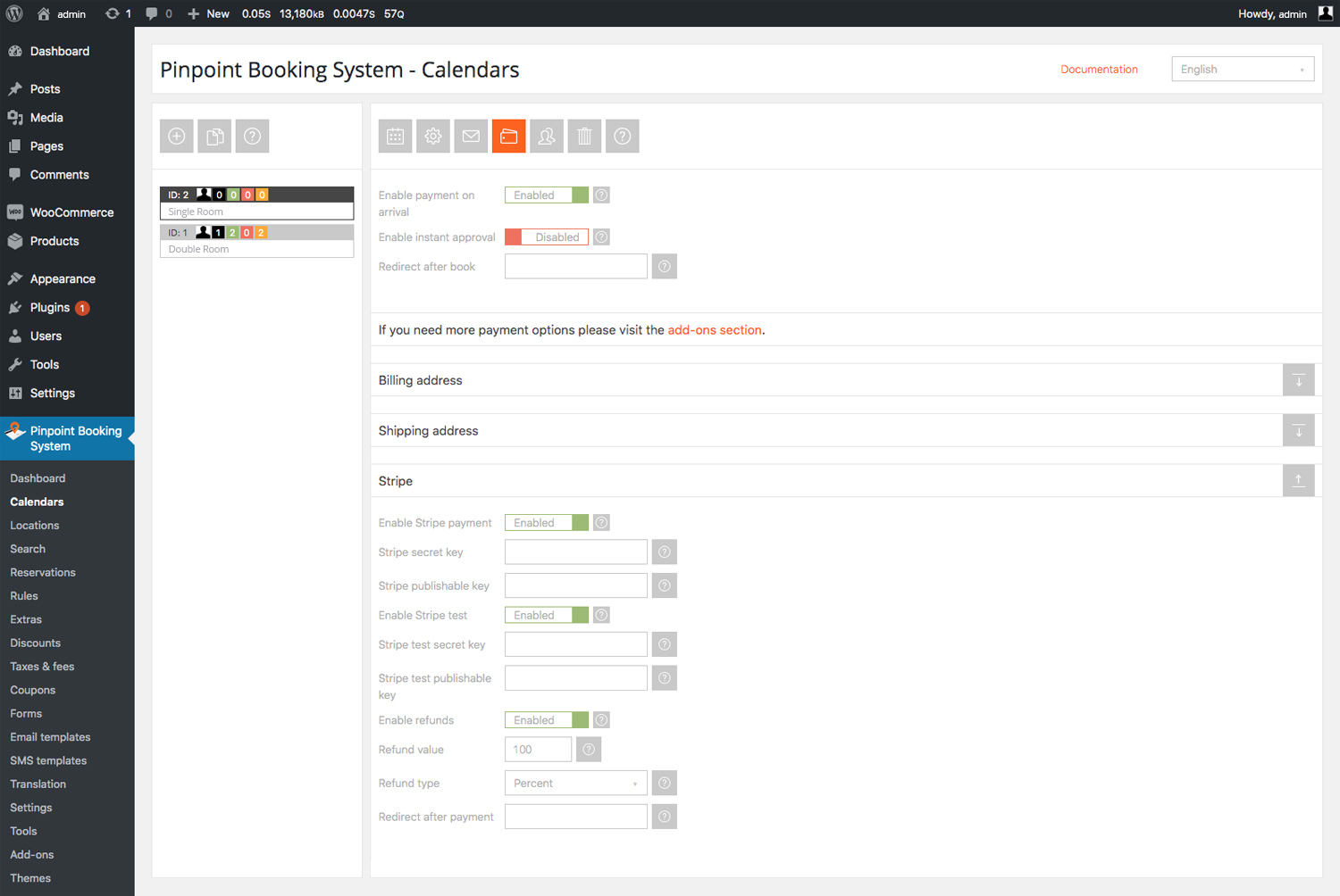 Pinpoint Booking System screenshot 0