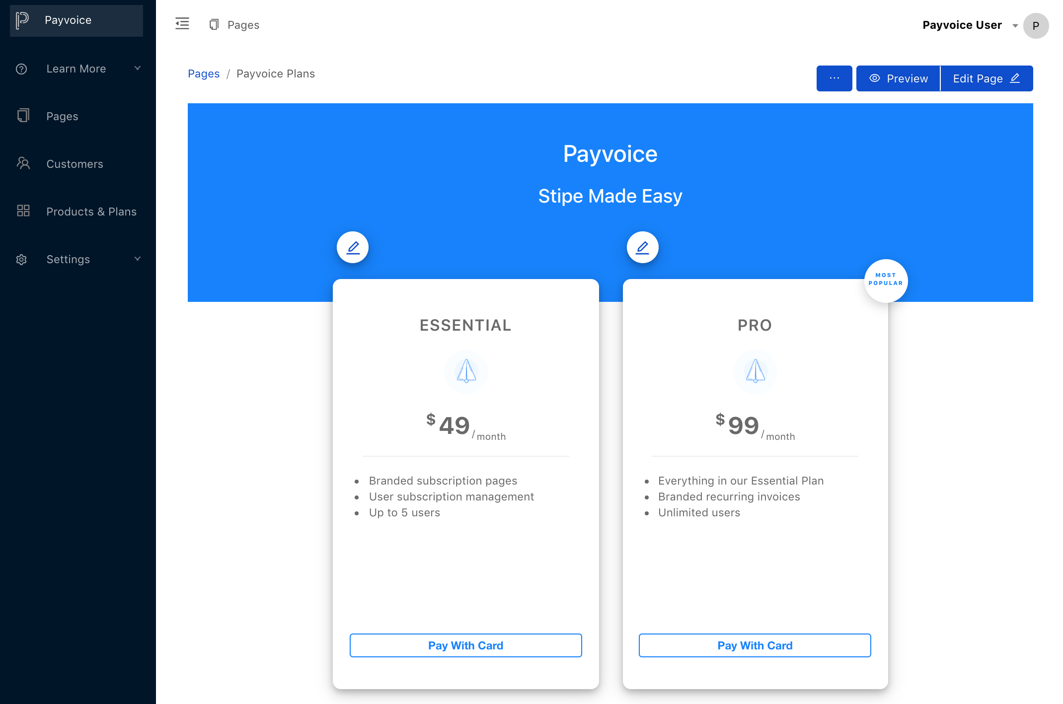 Payvoice screenshot 2
