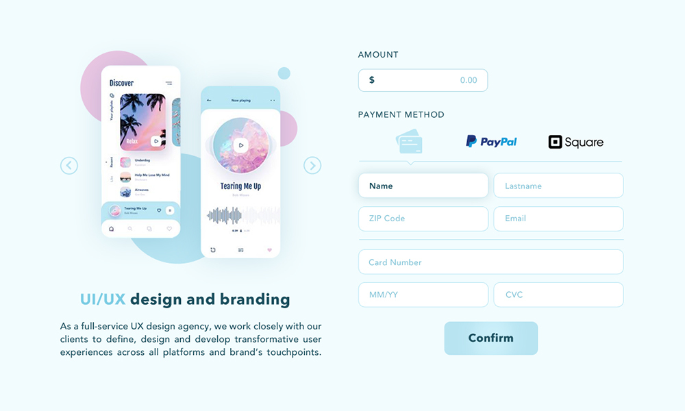 Payment Page screenshot 0
