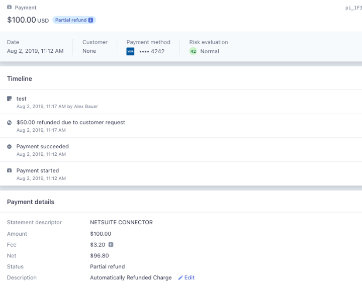 Stripe NetSuite Connector screenshot 2