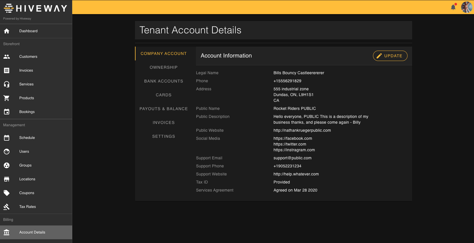 Hiveway screenshot 1